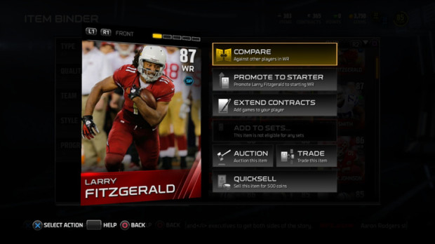 Progress through Madden 15 Ultimate Team Objectives to unlock a rewards pack and learn about new Madden Ultimate Team features.