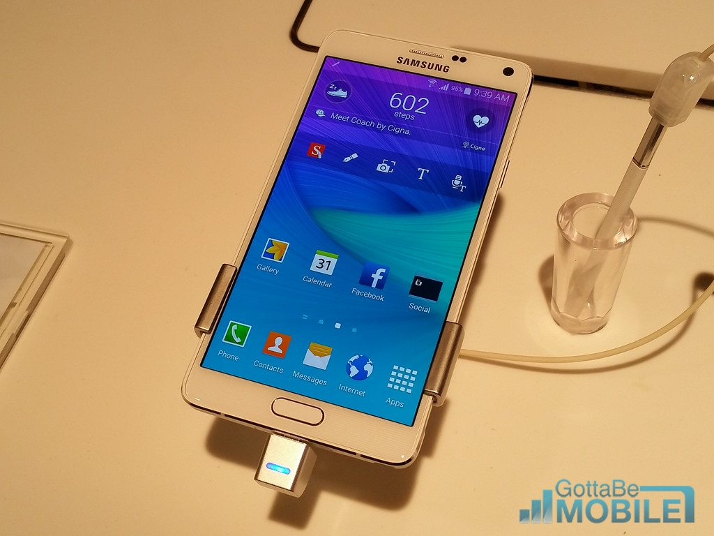 The Galaxy Note 4 release date is in October for U.S. carriers.