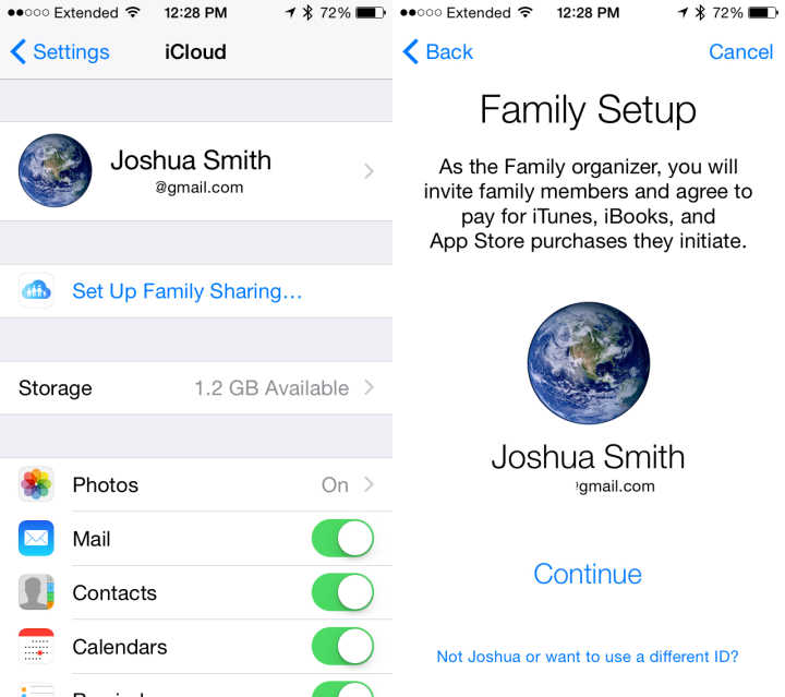 iOS 8 vs iOS 7 Sharing Apps, Movies & More