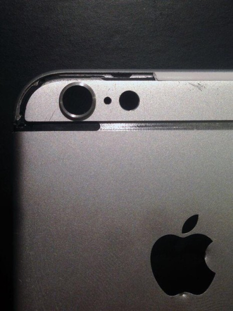 This close up is one of two new iPhone 6 photos that show a key part of the new iPhone design.