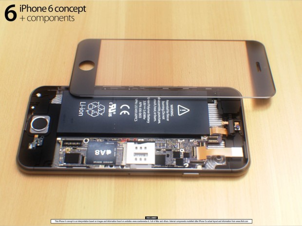 Look inside the iPhone 6 with this cool iPhone 6 concept.