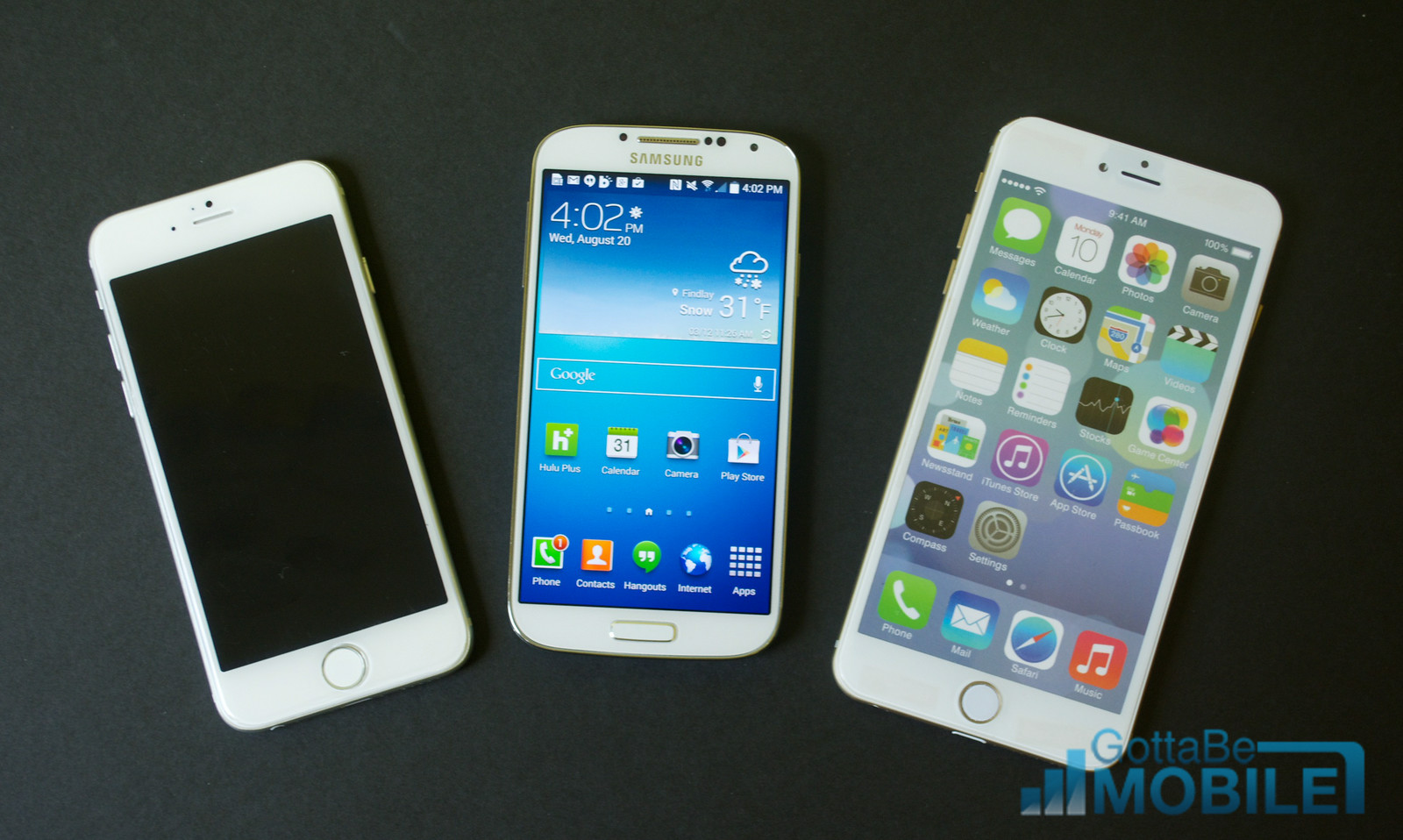 iphone 6 vs galaxy s4 video specs size amp more