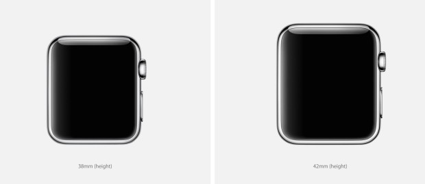 You can choose an Apple Watch size for your wrist.