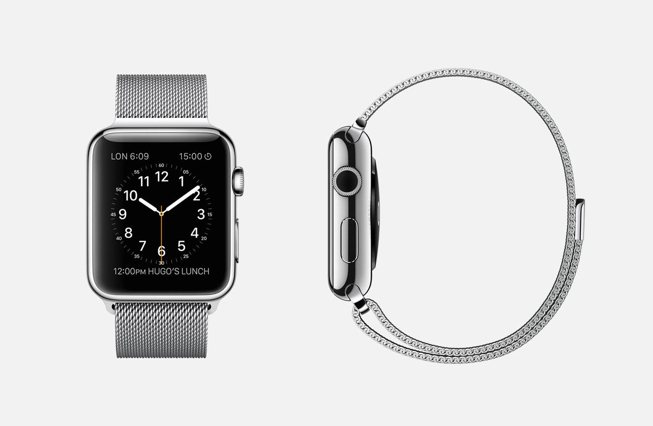 This is the base Apple Watch.
