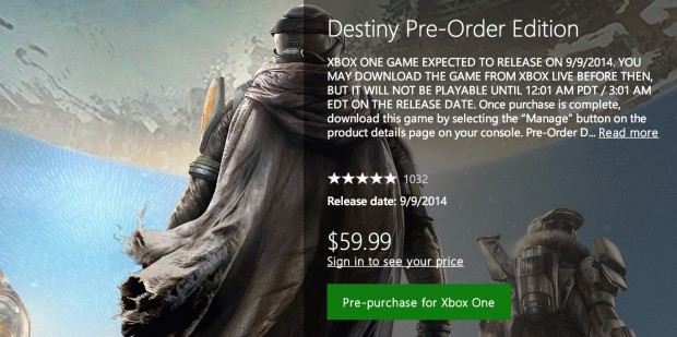 You can buy the digital Destiny release today.