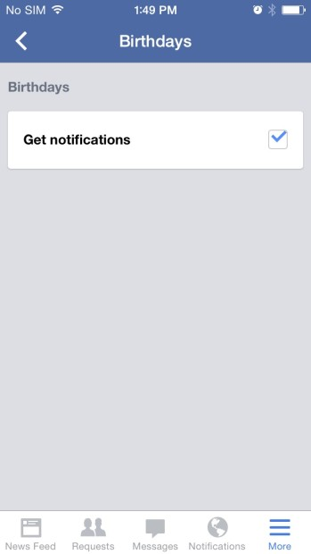 How to Turn Off Facebook Birthday Alerts on the iPhone (13)