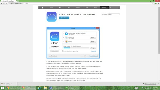 Prepare for iPhone 6 with iCloud for Windows (2)