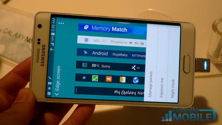 Galaxy Note Edge Notifications