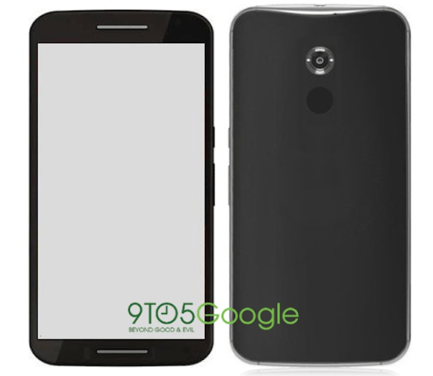 This is a rumor-based render of the Nexus 6 & not a real product