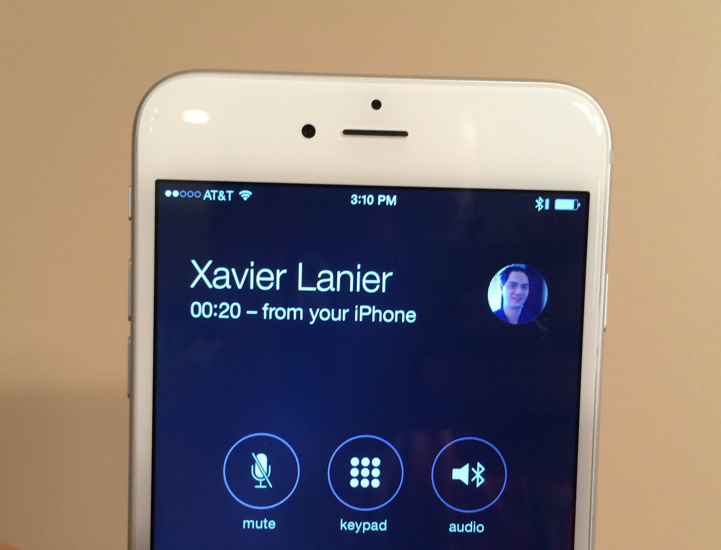 Here's how to stop all iPhones from ringing in your house after updating to iOS 8. This is when you share an Apple ID and see call from your iPhone listed below the contact.