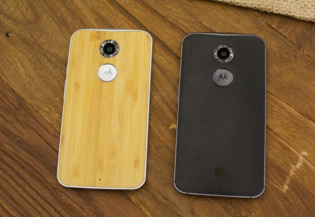You'll find at least one wood Moto X 2014 option at Verizon and count on a free upgrade.