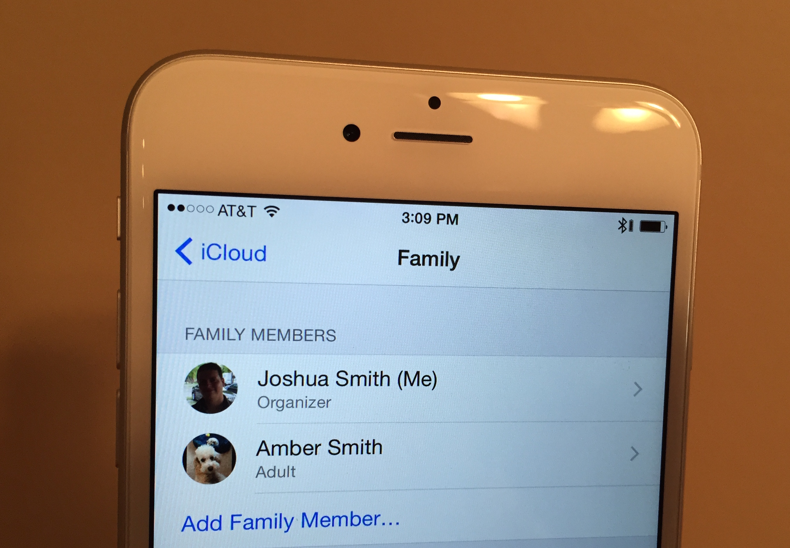how to set up itunes for family sharing