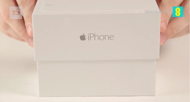 Watch the first iPhone 6 unboxing video.
