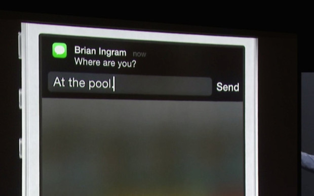 ios 8 notification interactions
