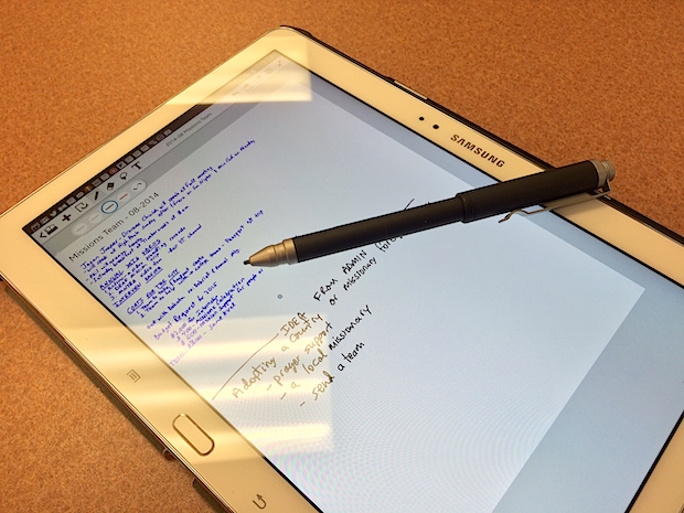 wacom bamboo feel stylus and galaxy note 10