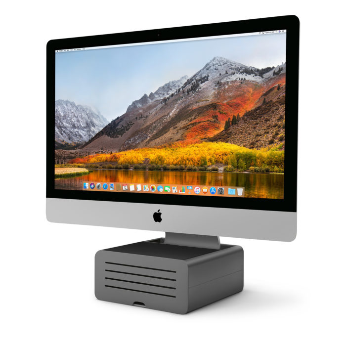 You'll want a iMac stand.
