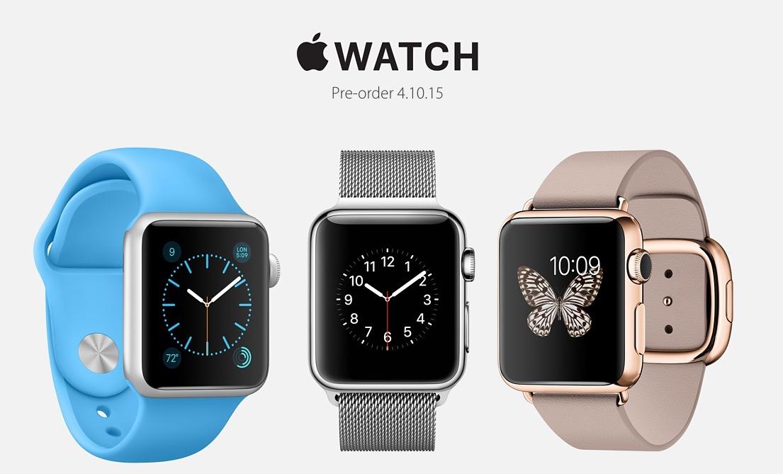 This is how Apple Watch pre-orders work.