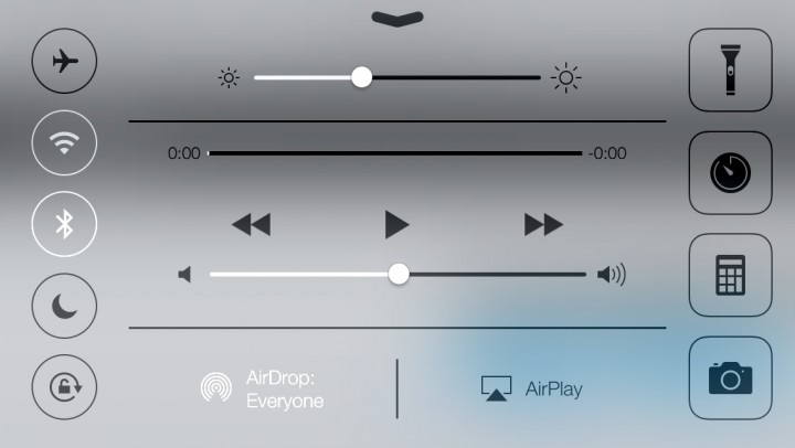 Control Center Shortcuts to Settings