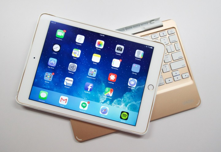 The iPad Air 2 delivers plenty of power for games, productivity and entertainment.