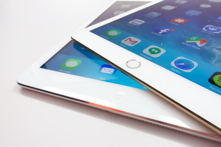 Touch ID is a welcome upgrade for the iPad Air 2.