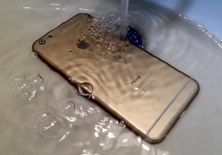 We could see a new waterproof iPhone this year.
