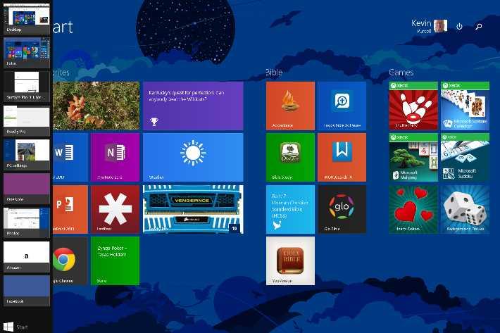 program show up in left edge on windows 8