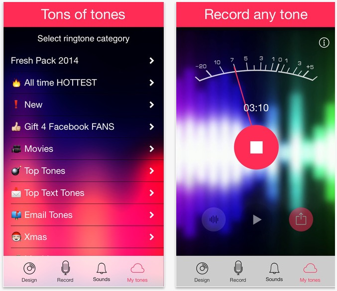 ringtones-app