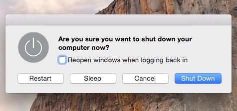 shut-down