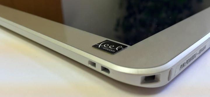 Toshiba Encore 2 Write tablet stylus slot