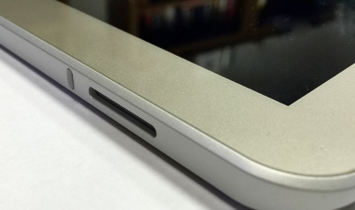 Toshiba Encore 2 Write tablet  stereo speaker