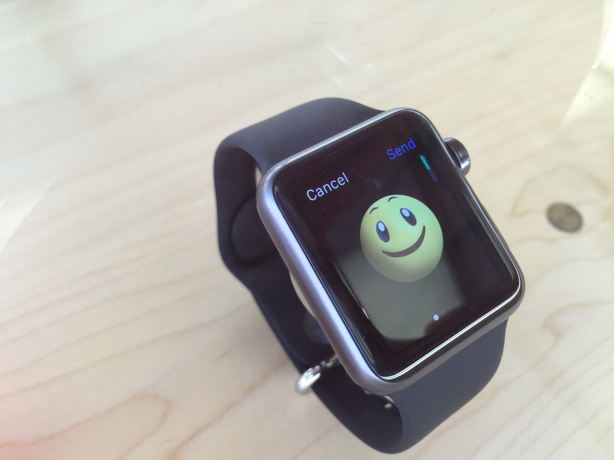 Your face when you get an Apple Watch shipment notification.