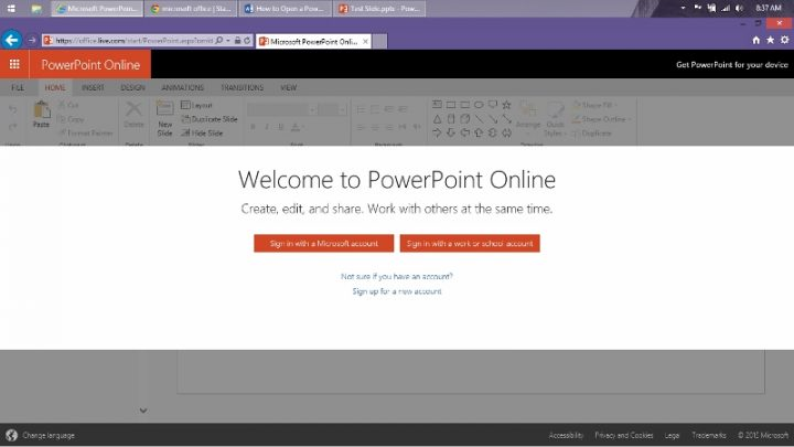 How to Open a Power Point Presentation Online (2)