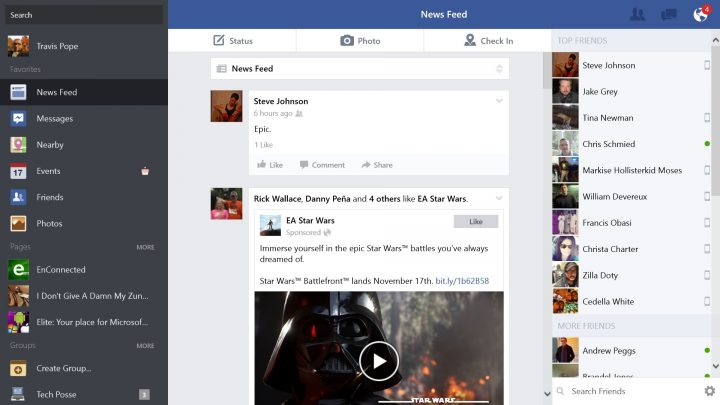 How to use Facebook on Windows 8.1 (7)