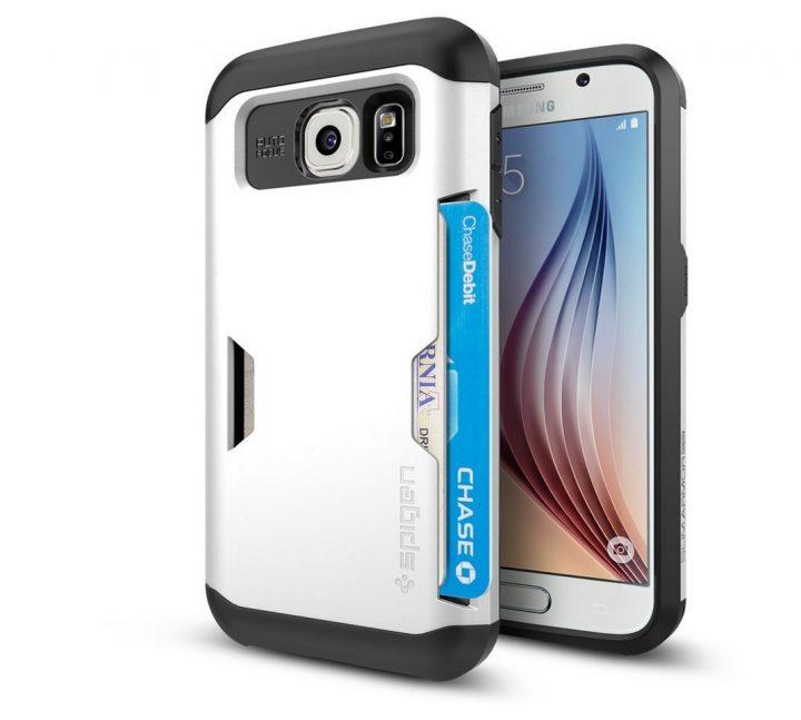 Spigen Galaxy S6 Card Holder