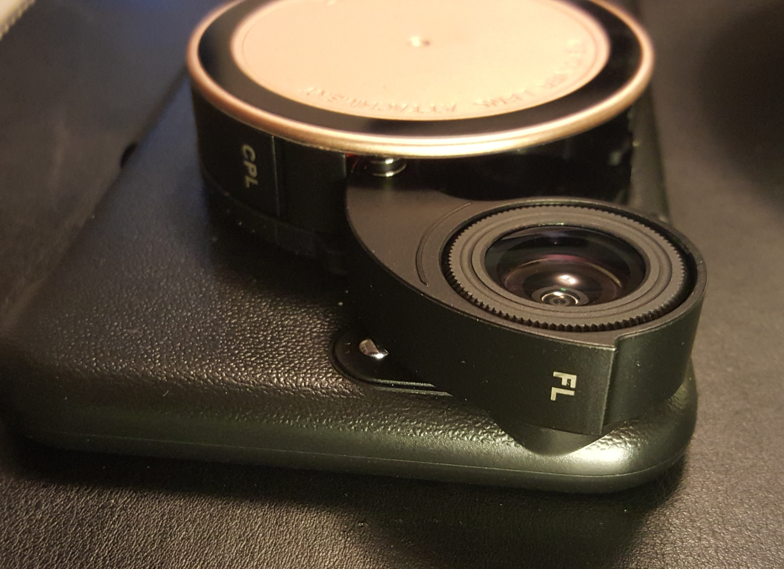 ZTYLUS iPhone 6 Plus with fish-eye lens covering iphone 6 plus lens