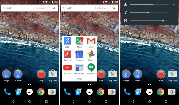 Android M look-volume