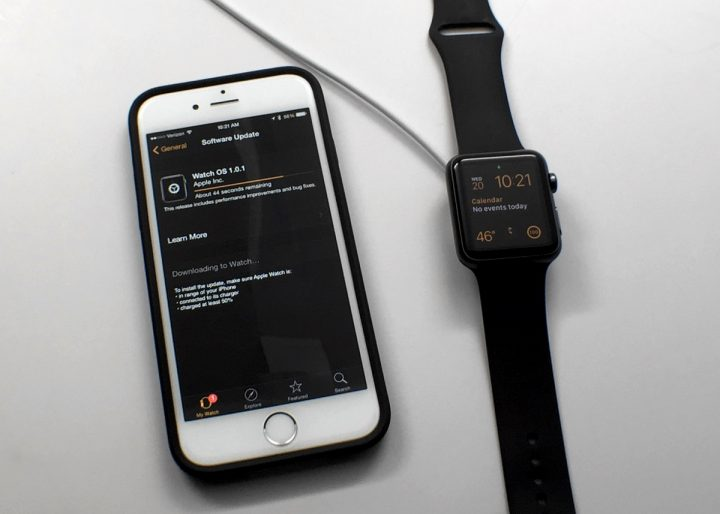 Some users should wait to install the Apple Watch update.