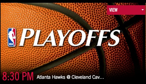 Watch the Hawks vs Cavaliers live on the Watch TNT app.