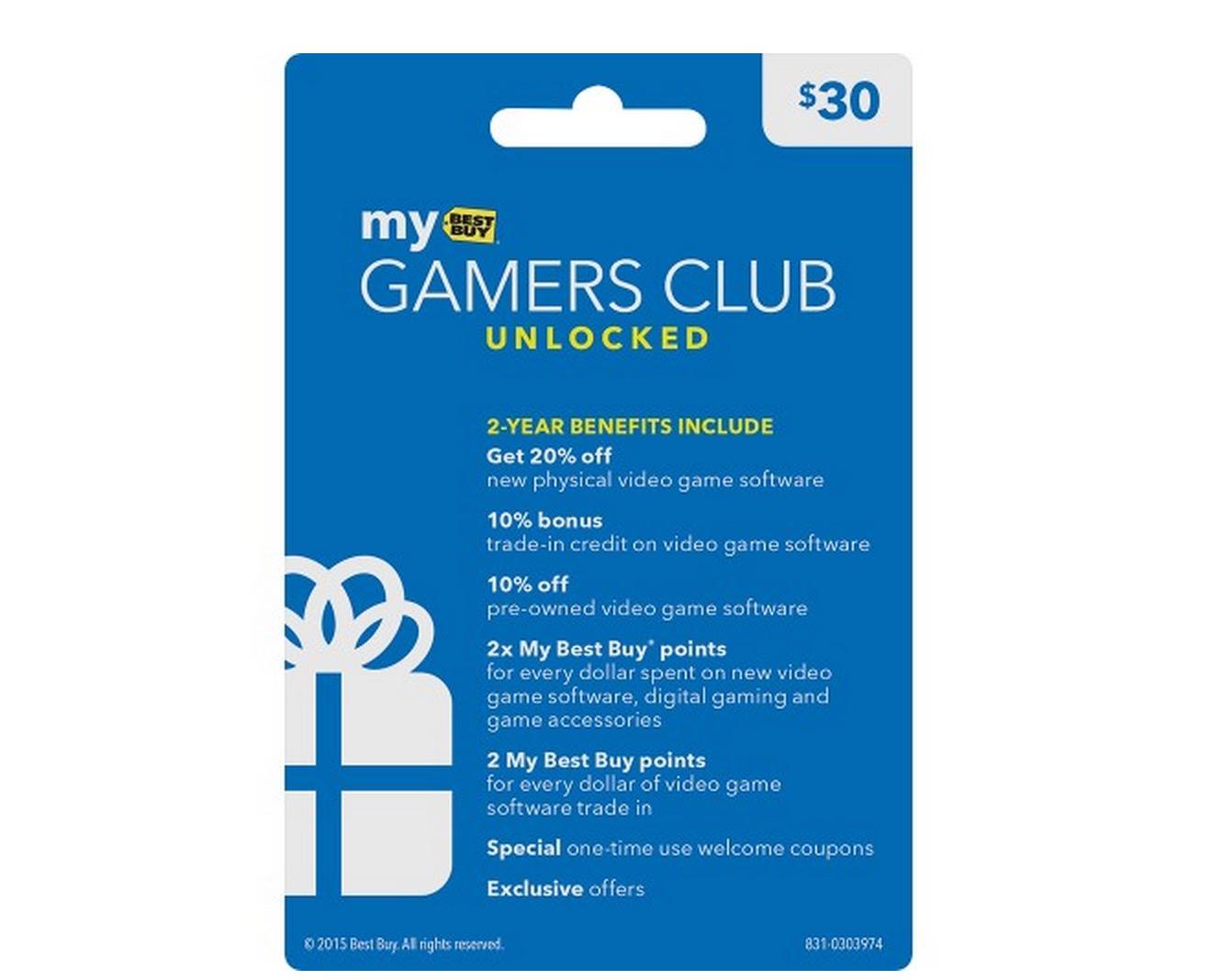 My Best Buy Gamers Club - Best Buy