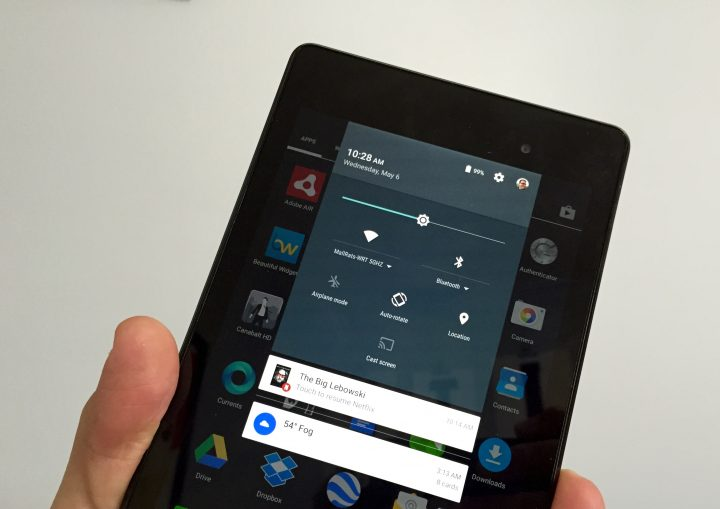 Connectivity is solid on the Nexus 7 with Android 5.1.1.