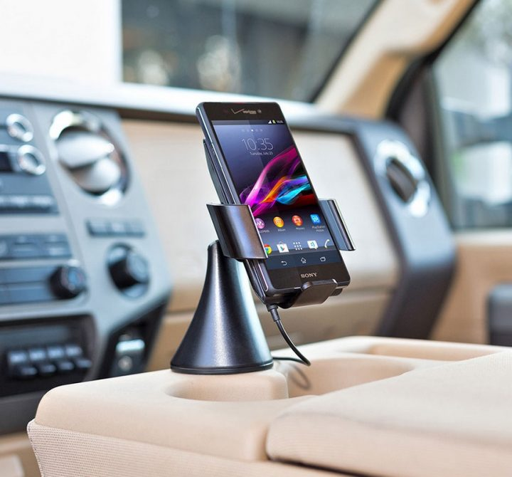 TYLT Vu Car Dock and Wireless Charger
