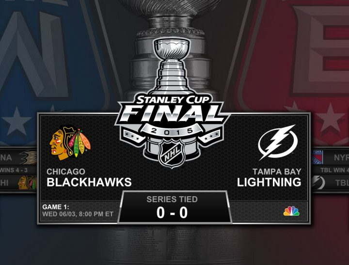 Watch the 2015 Stanley Cup live streams on NBC.