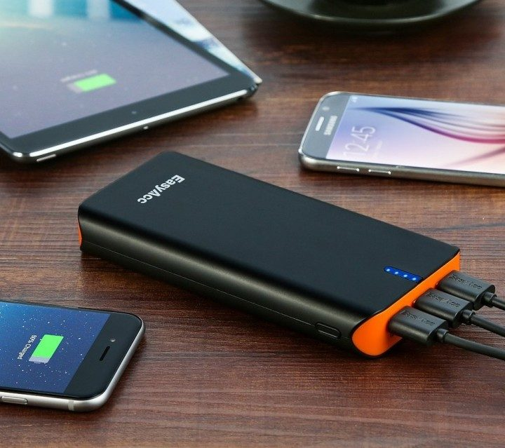 EasyAcc Quick Charge Portable 20,000 Battery (USB Type-C)