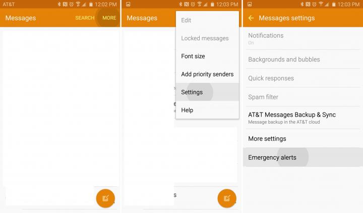 Galaxy S6-alerts