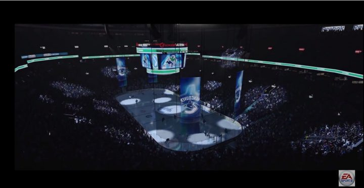 NHL 16 Celebrations & Stadiums