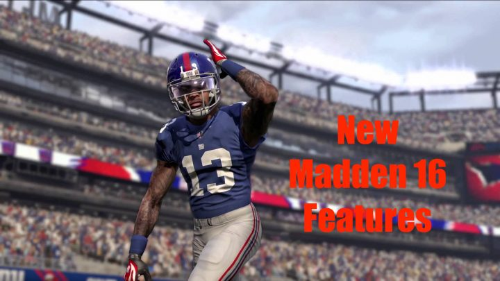 Click for the most exciting new Madden 16 Features