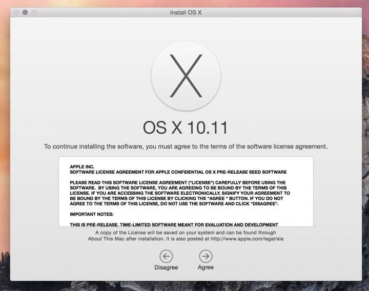OS X El Capitan Beta Downloads Install Guide - 2