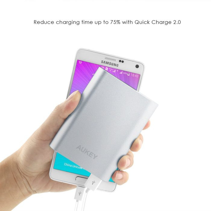 Aukey 10,000 mAh Portable Quick Charge Battery