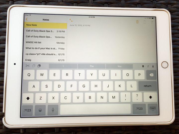 iPad Keyboard Upgrades