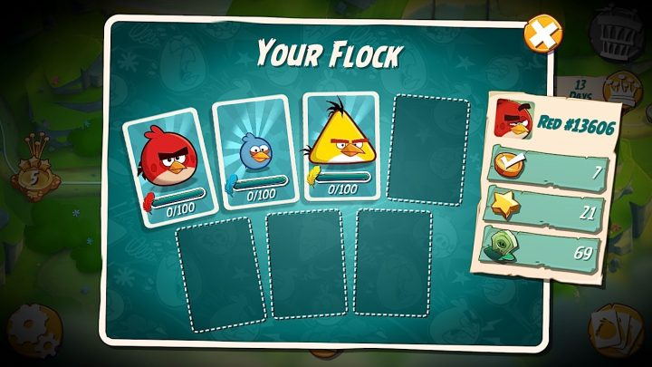 Make sure you pick the best bird for the obstacle ahead.